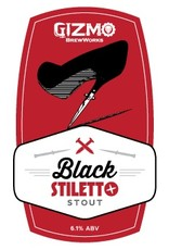 Gizmo BrewWorks 'Black Stiletto Stout' 22oz