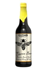 Gizmo BrewWorks 'Queen Bee' Bourbon Barrel-aged Honey Wheat Wine 22oz