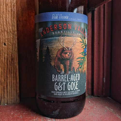 Anderson Valley 'Barrel-aged G&T' Gose 22oz