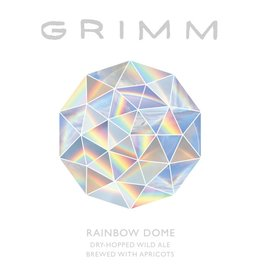 Grimm Ales 'Rainbow Dome' Dry Hopped Wild Ale w/ Apricots 22oz