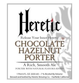 Heretic 'Chocolate Hazelnut' Porter 22oz