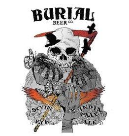 Burial 'Scythe' Rye IPA 16oz Sgl (Can)