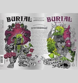 Burial 'Ceremonial feat. Cashmere Hops' Session IPA 16oz Sgl (Can)
