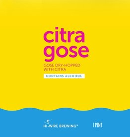 Hi-Wire 'Citra Gose' 16oz Sgl (Can)