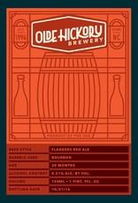 Olde Hickory 'Flanders Red' Sour Ale Aged in Bourbon Barrels 22oz