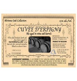 Alvinne 'Cuvee D'Erpigny' 11.2oz Sgl