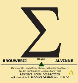 Alvinne 'Sigma' 11.2oz Sgl