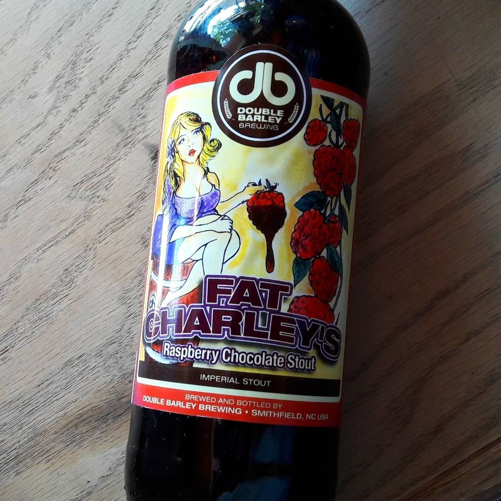 Double Barley 'Fat Charlie' Raspberry Chocolate Imperial Stout 22oz