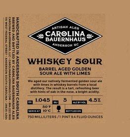 Carolina Bauernhaus Carolina Bauernhaus 'Whiskey Sour' Oak aged Sour Ale with Lemons and Limes 22oz