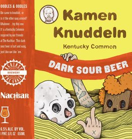 Against the Grain 'Kamen Knuddeln' Dark Sour Beer 16oz (Can)