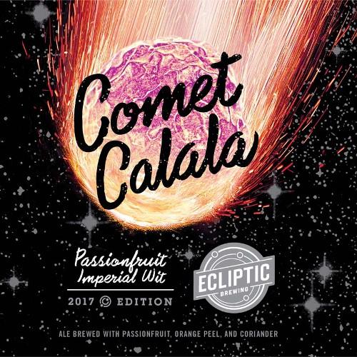 Ecliptic 'Comet Calala' Imperial Passionfruit Wit 22oz