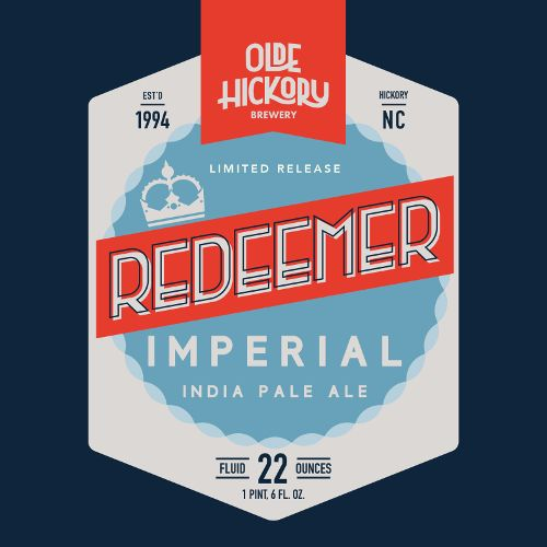 Olde Hickory 'Redeemer' Imperial IPA 22oz