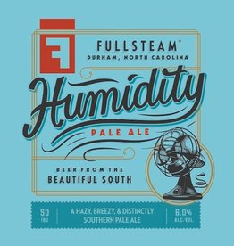Fullsteam 'Humidity' Unfiltered Pale Ale 12oz Sgl (Can)