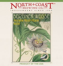 North Coast 'Passionfruit-Peach' Berliner Weisse 22oz