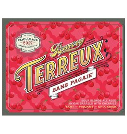 The Bruery 'Terreux 'Sans Pagaie' Sour Blonde Ale aged in Oak Barrels with Cherries 750ml