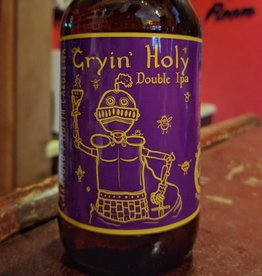 Steel String 'Cryin Holy' Double IPA 12oz