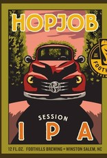 Foothills Brewing 'Hopjob' Session IPA 12oz Sgl