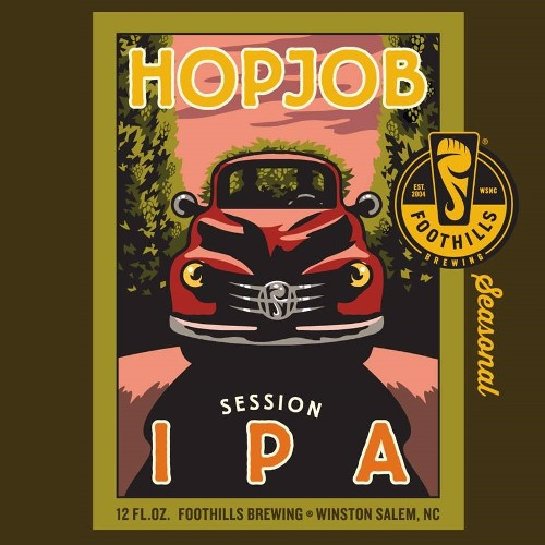 Foothills 'Hopjob' Session IPA 12oz Sgl