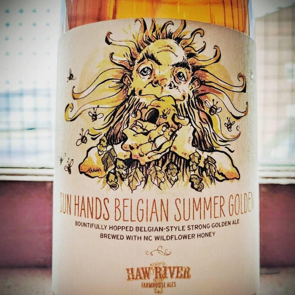 Haw River 'Sun Hands' Summer Golden Ale