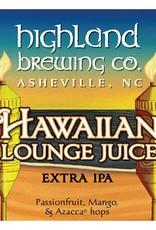 Highland 'Hawaiian Lounge Juice' Passionfruit, Mango, & Azacca Extra IPA 12oz Sgl