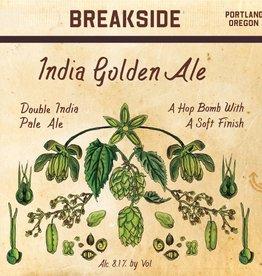 Breakside 'India Golden Ale' 22oz