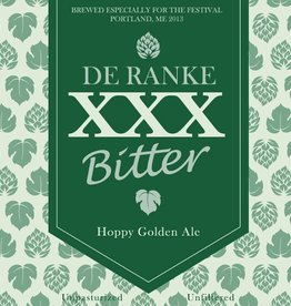 De Ranke 'XXX Bitter' Hoppy Golden Ale 750ml