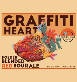 Birds Fly South 'Graffiti Heart' Foeder Blended Red Sour Ale 750ml