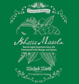 Wicked Weed 'Khatta Massala' Barrel-aged American Sour Ale 500ml