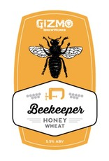 Gizmo BrewWorks 'Beekeeper' Honey Wheat Ale 22oz