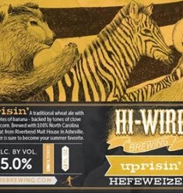 Hi-Wire 'Uprisin' Hefeweizen 12oz Sgl