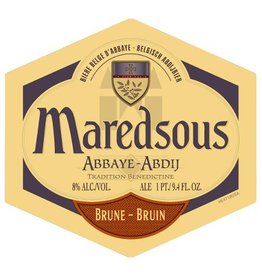 Duvel Moortgat 'Maredsous Abbaye Brune' 750ml
