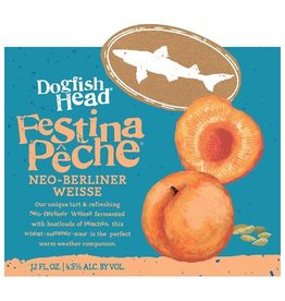 Dogfish Head 'Festina Peche' Neo Berliner Weisse 12oz Sgl