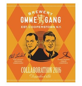 Ommegang x Urban Chestnut 'Collaboration 2016' Doppelbock Ale 11.2oz Sgl