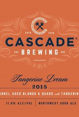 Cascade 'Tangerine Dream' Barrel Aged Quad and Blond Ales w/ Tangerine 750ml