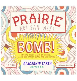 PRAIRIE 'Bomb!' Imperial Stout 12oz Sgl