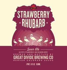 Great Divide Great Divide 'Strawberry Rhubarb' Sour Ale 22oz
