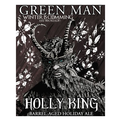 Green Man 'Holly King' Barrel-aged Holiday Ale 750ml