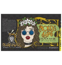 Bhramari 'Mollys Lips' Black Gose w/ Orange Blossom 12oz (Can)