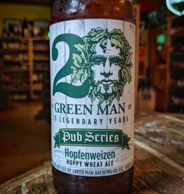 Green Man 'Hopfenweizen' Hoppy Wheat Ale 12oz Sgl