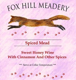 Fox Hill 'Spiced Mead' 750ml