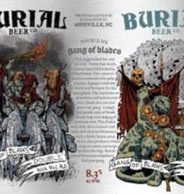 Burial 'Gang of Blades' Double IPA 16oz (Can)