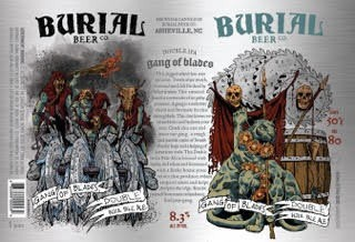 Burial 'Gang of Blades' Double IPA 16oz Sgl (Can)