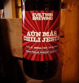 Evil Twin 'Aun Mas Chili Jesus' Imperial Stout w/ Chili Peppers 11.2oz Sgl