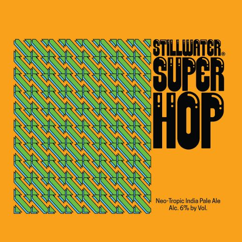 Stillwater 'Super Hop' Neo-Tropic IPA 16oz Sgl (Can)