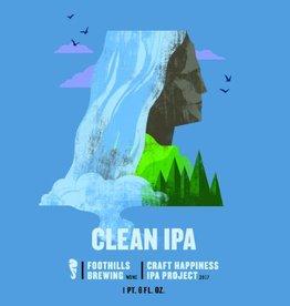 Foothills Foothills 'Clean' IPA 22oz