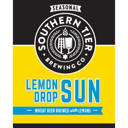 Southern Tier 'Lemon Drop Sun' Wheat Beer w/ Lemons 12oz Sgl