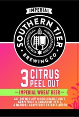 Southern Tier '3 Citrus Peel Out' Imperial Wheat Beer 12oz Sgl