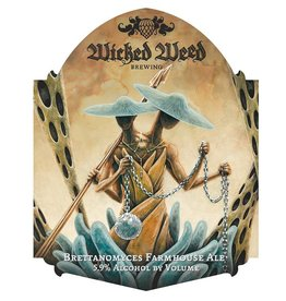 Wicked Weed 'Brettabolic' Brettanomyces Farmhouse Ale 500ml