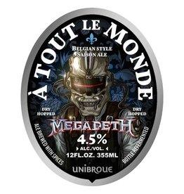 Unibroue x Megadeth 'A Tout le Monde' 12oz Sgl