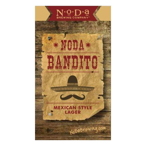 NoDa 'Bandito' Mexican Lager 16oz Sgl (Can)